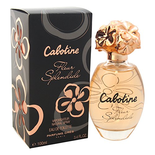 - Parfums Gres Cabotine Fleur Splendide Eau de Toilette Spray, 3.4 Ounce