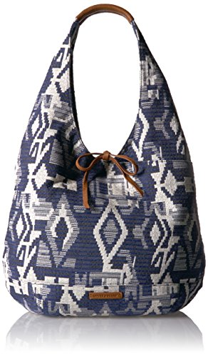 Lucky Mia Hobo, Blue/Natural by Lucky Brand