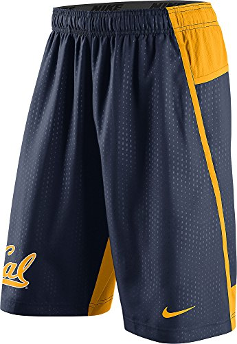 Nike Gold Training Shorts - NIKE UC Berkeley Cal Golden Bears Men's Fly XL 3.0 Dri-FIT Training Shorts (3XL, Navy Blue)