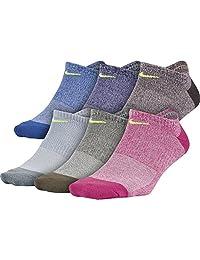 Nike Calcetines Invisibles para Mujer, livianos, para Uso Diario (6 Pares)