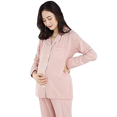 bc33b1689f57a XFentech Pyjama Femme Ensemble Vêtements - Joli Un Ensemble de Chemise Nuit  en Coton Fin Décontracté