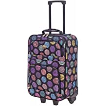 Jetstream 20 Inch Lightweight Luggage Softside Carry On Suitcase