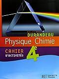 Physique Chimie 4e : Cahier d'activités