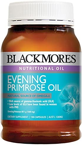 Blackmores Evening Primrose Oil 190 Capsules Australia Import