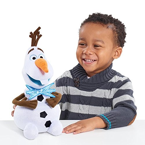 ECXLUSIVE Disney Frozen OLAF' s ADVENTURE 12-inch Light-Up Bow Tie OLAF