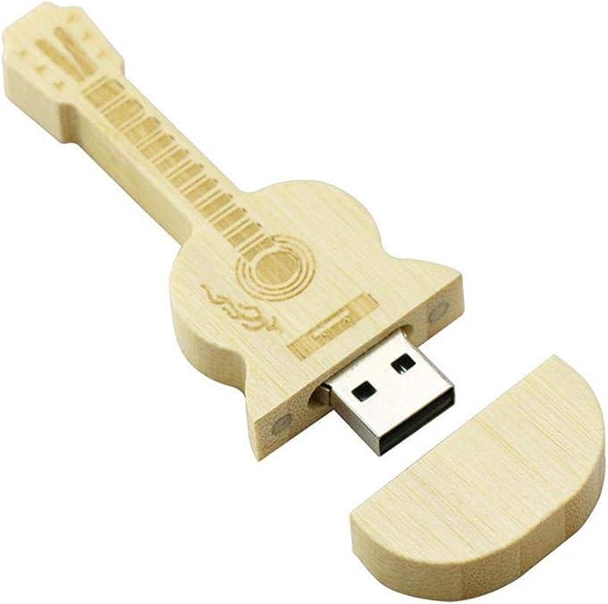 KOBWA木材質バイオリン形USBフラッシュメモリ