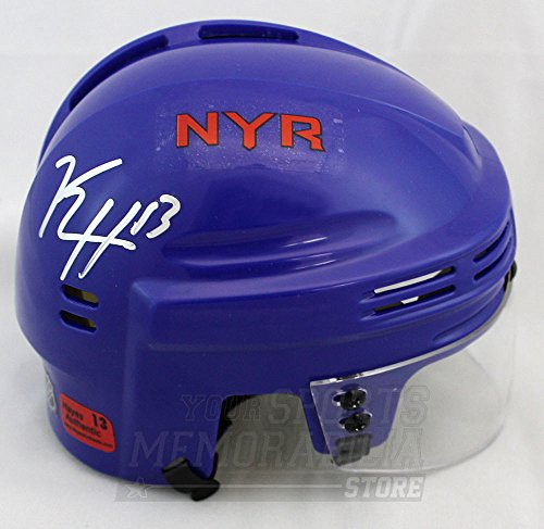 Kevin Hayes New York Rangers Signed Autographed Rangers Mini Helmet