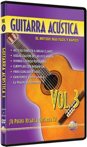 Amazon.com: Guitarra Acustica, Vol 3: Tu Puedes Tocar La Guitarra Ya! (Spanish Language Edition) (DVD): Rogelio Maya: Movies & TV