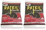 Advance Ratkil Granules Rat killer Mouse Rodent control (50gm x 2 pcs) Amazing Effect Rat kill