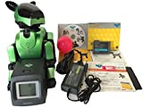 Sony Aibo Robot Pet ERS-210 Metallic Yellow Green with AIBO LIFE Software