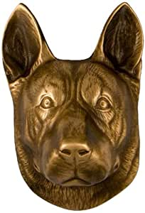 German Shepherd Dog Knocker - Bronze