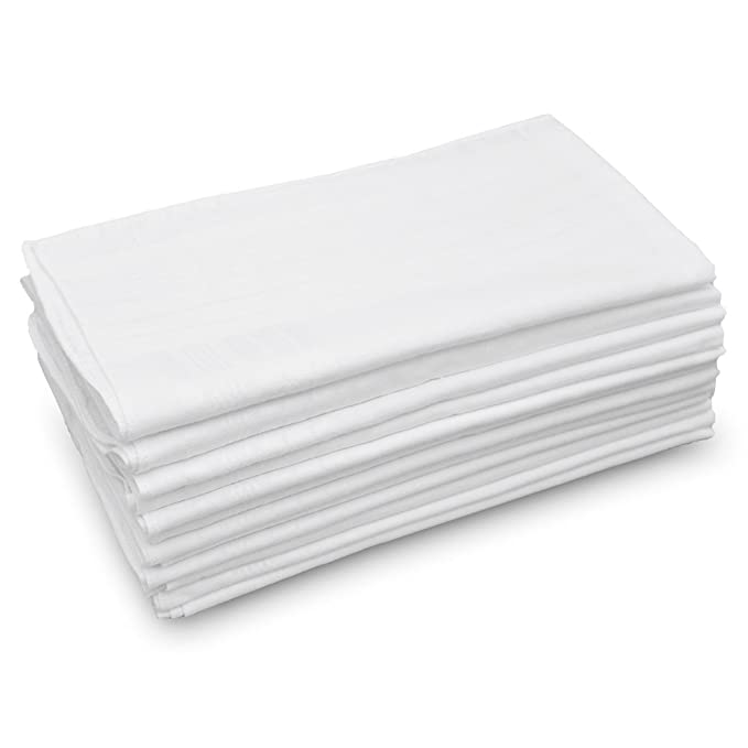 Amazon.com: GB - Juego de pañuelos para hombre, 100% algodón ...