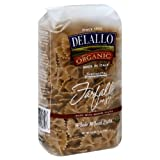 DeLallo Farfalle, Whole Wheat, Organic 16.0 OZ(Pack of 12)