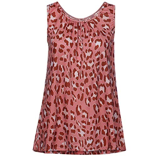 Fashion Blouses Tops, top Femme Grande Taille Tank Tops tees Women Strap Floral Print Chiffon Sexy Tops Red S