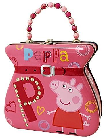 The Tin Box Company 887507-12 Peppa Pig Carry All Tin Purse (The Tin Box Company Small)