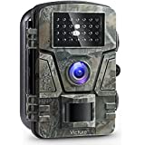 Victure Trail Camera 1080P 12MP Wildlife Camera Motion Activated Night Vision 20m with 2.4 LCD Display IP66 Waterproof Design for Wildlife Hunting and Home Security 【NEW VERSION】