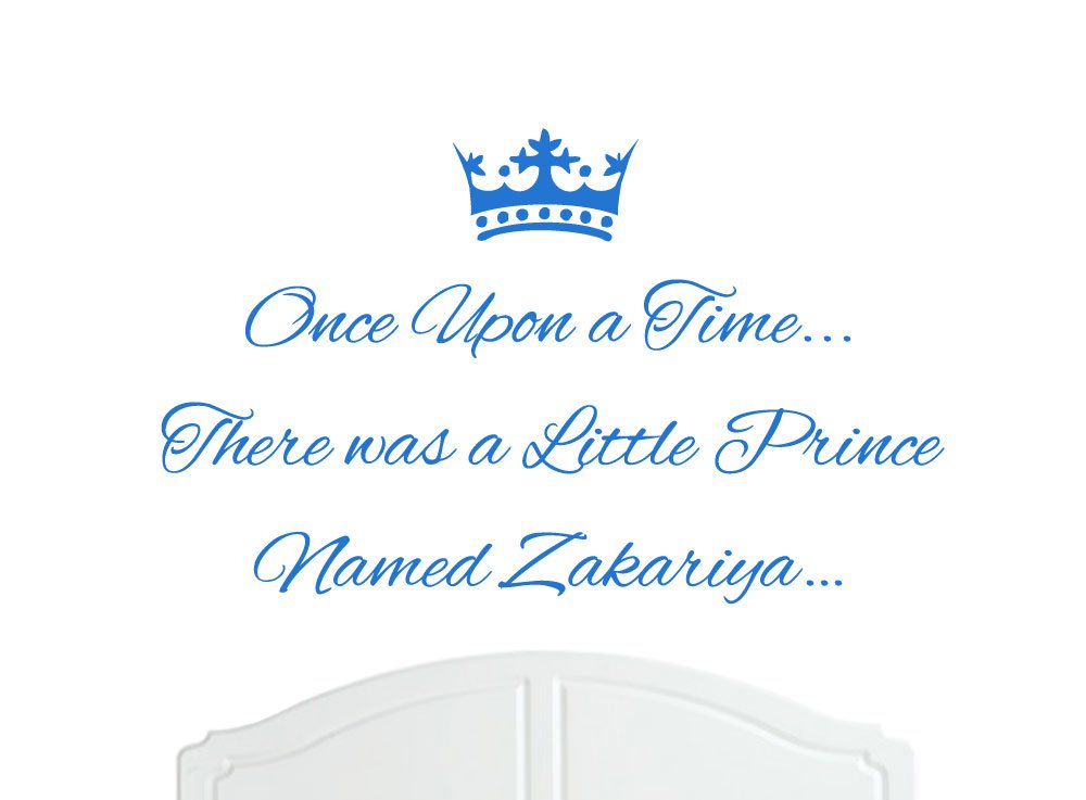 Amazon.com: Once Upon a Time There was a Little Prince Named ...