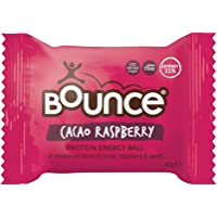 Bounce Cacao Raspberry Protein Energy Ball - Box of 12 (42g each)