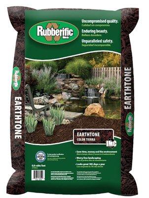 Rubberific Rubber Mulch Bagged Brown (International Mulch)