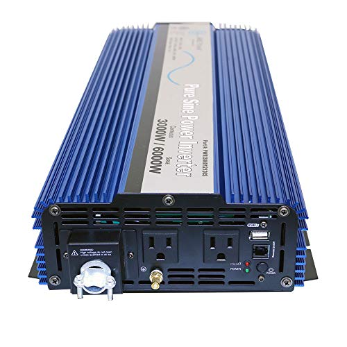 AIMS Power PWRI300012120SUL 3000 Watt Pure Sine Wave Power Inverter, ETL Listed by AIMS Power (Image #2)