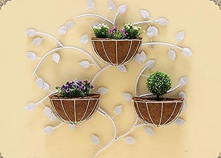 Flower pot finishing rack. European Style Flower Frame Iron Wall ...