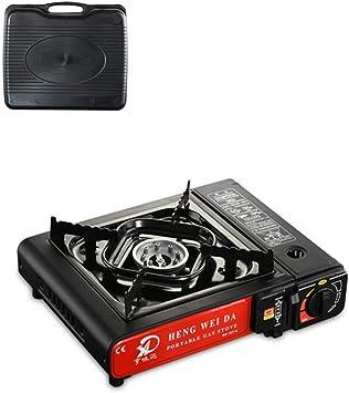 Steadyuf Estufa De Camping-Gas Horno De Cassette Cocina De Gas ...