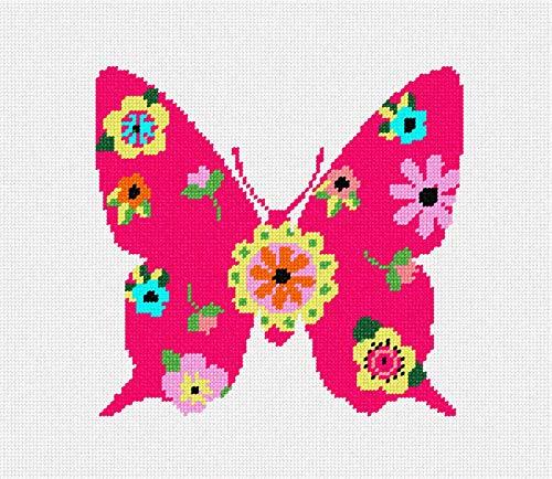 Pepita Butterfly Art Deco Needlepoint Kit