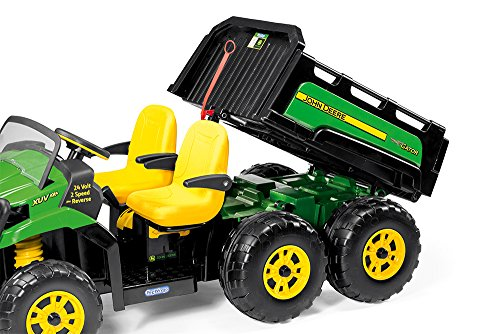 John Deere Gator Prices >> Peg Perego John Deere Gator XUV 6×4 Ride On – Kids Cars