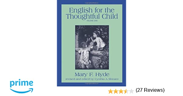 Amazon.com: English for the Thoughtful Child, Vol. 1 ...