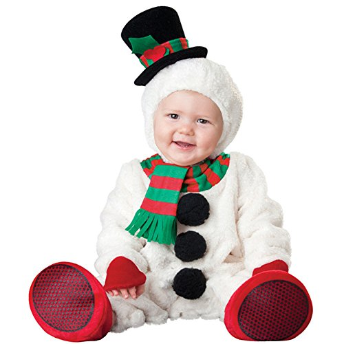 Snowman Costumes Toddler (Bowith Halloween Toddler Baby Boys Girls 0 24m Deer Costume Cute Jumpsuit Animal Zoo (24M, Christmas Snowman))