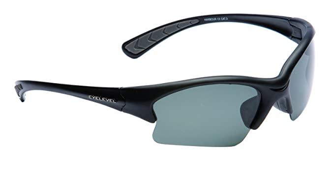 Gafas de sol polarizadas gris Harbour CAT-3 UV400 lentes