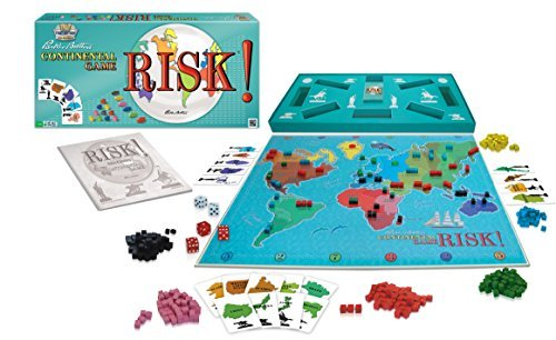 Risk! A Classic 1959 First Edition Reproduction Strategy Board Game