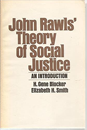 John Rawls Theory of Social Justice: An Introduction