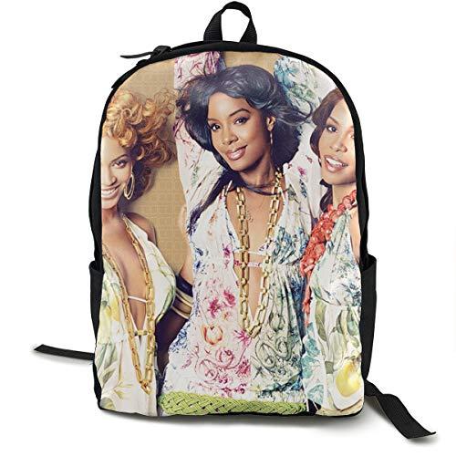 MDECTTHY Destiny's Child Backpack Unisex Modern Travel Laptop Backpacks Sport College School Computer Bag for Women Men