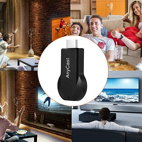 Anycast Plus HDMI Wireless Display Receiver, SmartSee Airplay MiraCast Adapter DLNA Streaming Stick Cast iOS Mac Android Phone Screen to HD TV Thanksgiving Christmas Day Gift