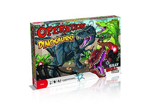 Dinosaur Operation Board Game by Dinosaur