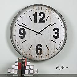 The Uttermost Marino Oversized Wall Clock