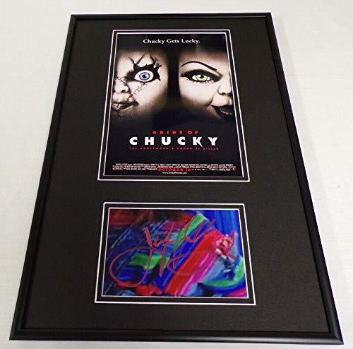 Jennifer Tilly Signed Framed 12x18 Bride of Chucky Poster Display ()
