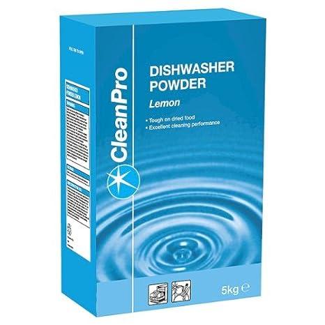 Clean Pro 5kg Lavavajillas Polvo Limón: Amazon.es: Hogar