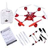K&A Company W609-10 4.5CH 2.4G Remote Control RTF Hexacopter with HD Camera New 12.6 x 11.0 x 4.5 3.7 V, 650 mAh Red
