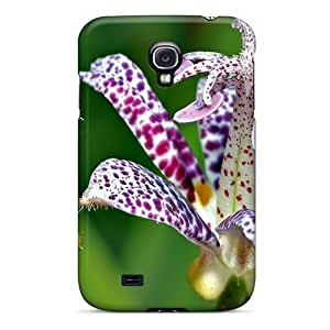 S4 Scratch-proof Protection Case Cover For Galaxy/ Hot Exotic Flowers Phone Case