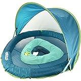 SwimSchool Sunshade Fabric BabyBoat in Blue by Aqua Leisure