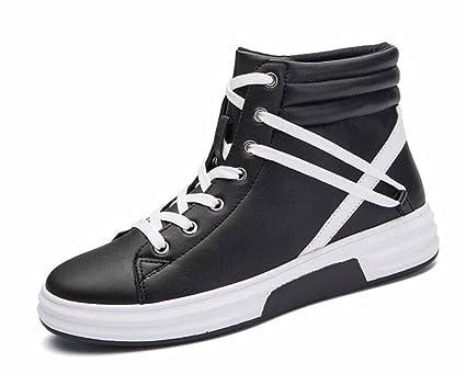 Hombres Respirable Zapatos Casuales 2017 Otoño Invierno Nueva Moda Deportes Cómodo Hola Arriba Zapatillas (Color