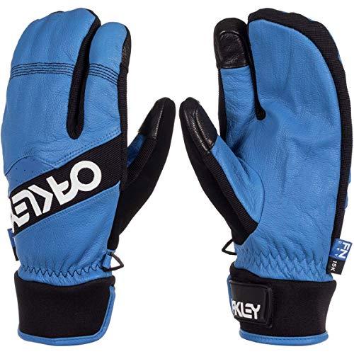 Oakley Factory Winter Trigger 2 Men's Snowboarding Mitten Gloves - Electric Blue/Large (Oakley Snowboarding Gloves)