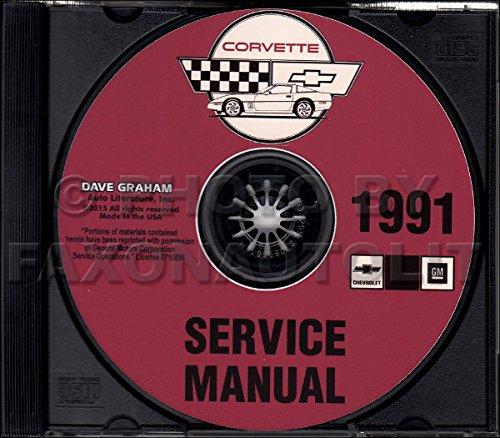 corvette factory service manual - 3