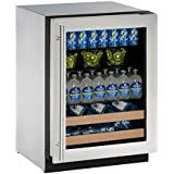 U-Line U2224BEVS13A Built-in Beverage Center, 24, Stainless Steel