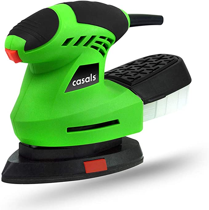 Casals C07040000 Mini lijadora, 200 W, 230 V, Negro/Verde: Amazon ...