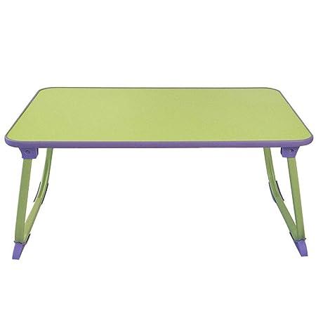 JM- Mesa plegable, escritorio Mesa portátil portátil Mesa de pie ...