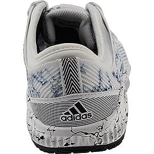 Women's adidas CrazyTrain Bounce, White/Black, 7 B