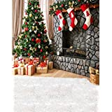 5x7ft Christmas Tree Gift Sock Photography Background Computer-Printed Vinyl Backdrops